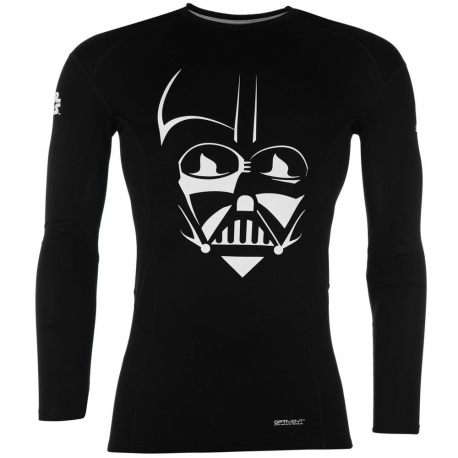 Rashguard Largo Lycra Sondico Star Wars Darth Vader