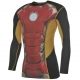 Rashguard Largo Lycra Sondico Marvel Iron-Man