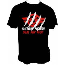 Camiseta Custom Fighter En Mi Mesa