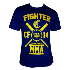 Camiseta Custom Fighter Azul