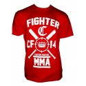 Camiseta Custom Fighter Roja