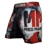 Short MMA Custom Fighter Splatter