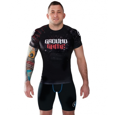 Rashguard Ground Game Samurai