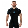 Rashguard Ground Game Manga Corta Athletic Negro