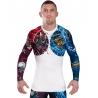 Rashguard Ground Game Bushido II Blanco