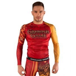 Camiseta Rashguard Ground Game Hear Me Crank