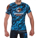 Short Sleeve Rashguard T-Shirt Ground Game Warmachine