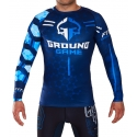Camiseta Rashguard Ground Game Hexagon