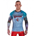 Camiseta Rashguard Ground Game Konki