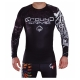 Rashguard Ground Game Black Turtle