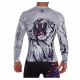 Rashguard Ground Game White Turtle