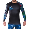 Rashguard Ground Game Yokai Black