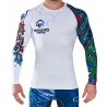 Rashguard Ground Game Yokai Blanco