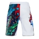 MMA Shorts Ground Game Yokai White