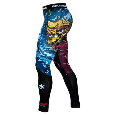 Leggings Ground Game Bushido II Black