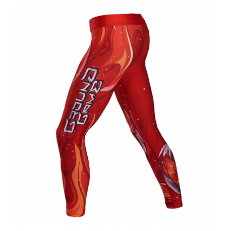 Leggings Ground Game Vermilion Bird