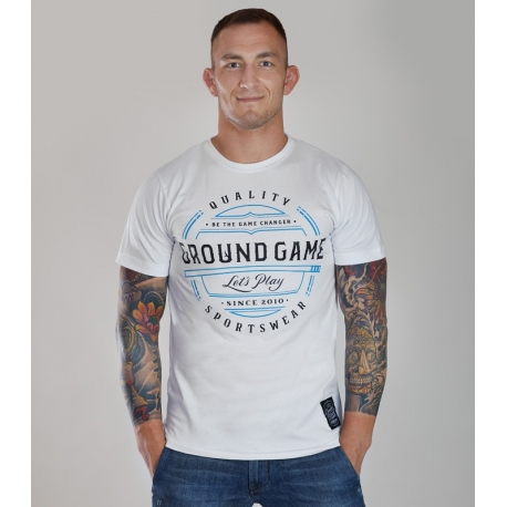 T-Shirt Ground Game Game Blanco