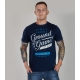 T-Shirt Ground Game Typo II Navy