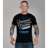 T-Shirt Ground Game Typo II Negro