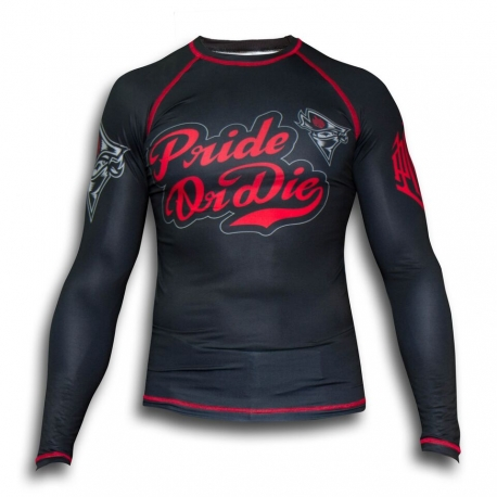 Rashguard Pride Or Die No Rules