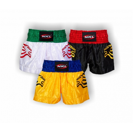 Short Kick/Thai NKL White-Green