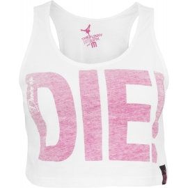 Top Deportivo Urban Dance Blanco-Rosa