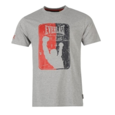 Camiseta Everlast Gris ¨Boxing Club¨
