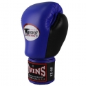Blue/Black Twins Special Boxing Gloves
