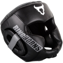 Ringhorns Charger Black/Gray Boxing Helmet By Venum
