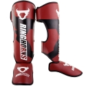 Ringhorns Charger Bordeaux/Black Shinguards By Venum