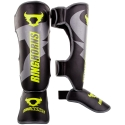 Ringhorns Charger Black/Yellow Neon Shinguards By Venum