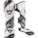 Shin Guard Ringhorns Nitro White / Gray / Black By Venum