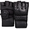Ringhorns Nitro Black Matte MMA Gloves By Venum