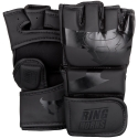 Guantillas de MMA Ringhorns Charger Negro Mate By Venum