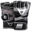 Ringhorns Charger Black/Gray MMA Gloves By Venum