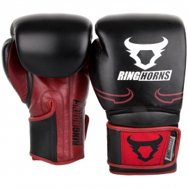 Guante de Boxeo Ringhorns Destroyer Negro/Rojo By Venum
