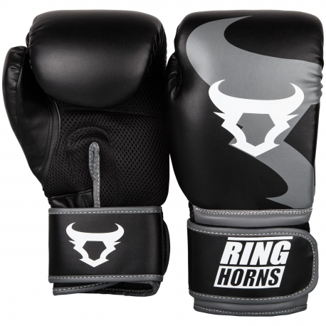 Boxing Gloves Ringhorns Charger Black/Gray By Venum