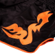 Venum Bangkok Inferno Muay Thai Shorts Black/Neo Orange