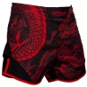 Short de MMA Venum Dragon´s Flight Negro/Rojo
