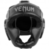 Venum Challenger 2.0 Headgear Kick Boxing Black/Grey