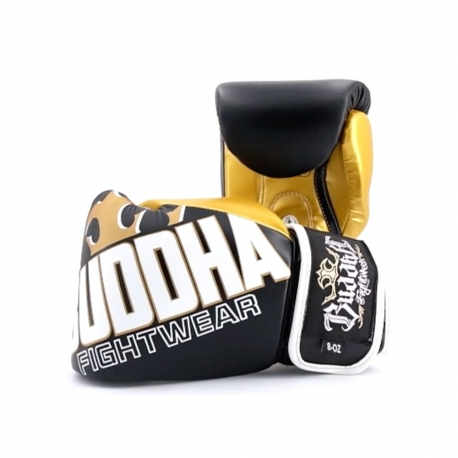 Gloves Boxing Buddha Millenium Black-Gold Kids