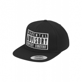 Gorra Parental Advisory Negra
