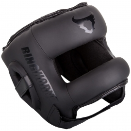 Ringhorns Nitro Headgear Black Matte