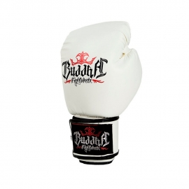 Guantes De Boxeo Buddha Fight Blanco