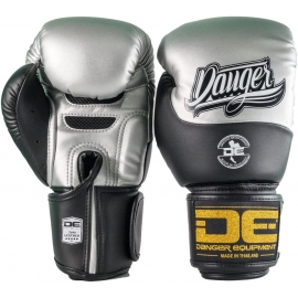 Boxing Gloves ¨Evolution DT¨ Danger Silver-Black