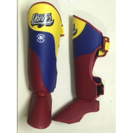 Shin Guards Danger ¨Evolution DT¨ Flag