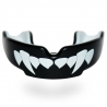 Protector Bucal Fit Fangz Negro-Blanco Kids
