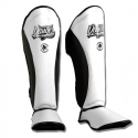 Shin Guards ''Evolution DT'' Danger White-Black