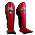 Shin Guards ''Evolution DT'' Danger Red-Black