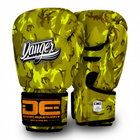 Guantes Danger Army Edition Amarillo